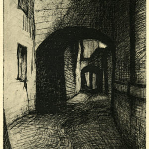Passage: Ascoli-Piceno, Etching ©Michelle Arnold Paine  PURCHASE