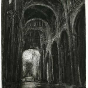 Journey: Siena Duomo, Etching on Paper ©Michelle Arnold Paine PURCHASE