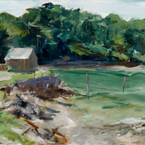"""York Harbor,  Oil on canvas, 16"""" x 20"""", ©Michelle Arnold Paine PURCHASE"""
