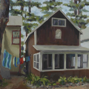 Alton Bay Cottage OIl Painting Michelle Arnold Paine