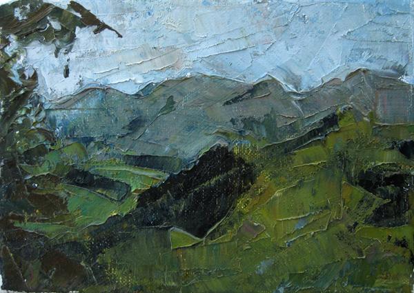 Umbria Landscape painting