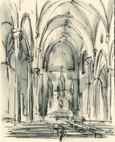 New Church Interior Drawings