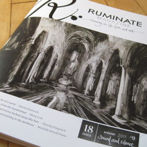 Cover of Ruminate Magazine