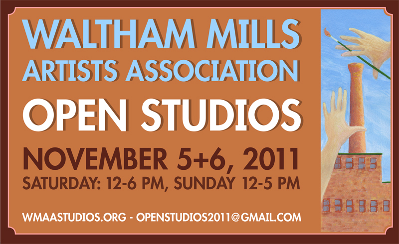 My first Open Studios in Waltham