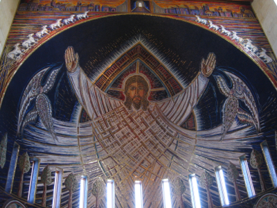 Christ in Majesty mosaic Church of the Transfiguration, Orleans, Massachusetts