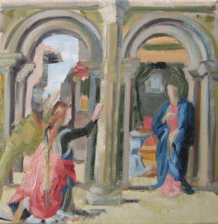 Annunciation after del Cossa