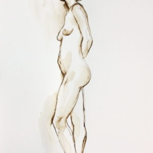 figurative,10x7,price $125,pen and ink