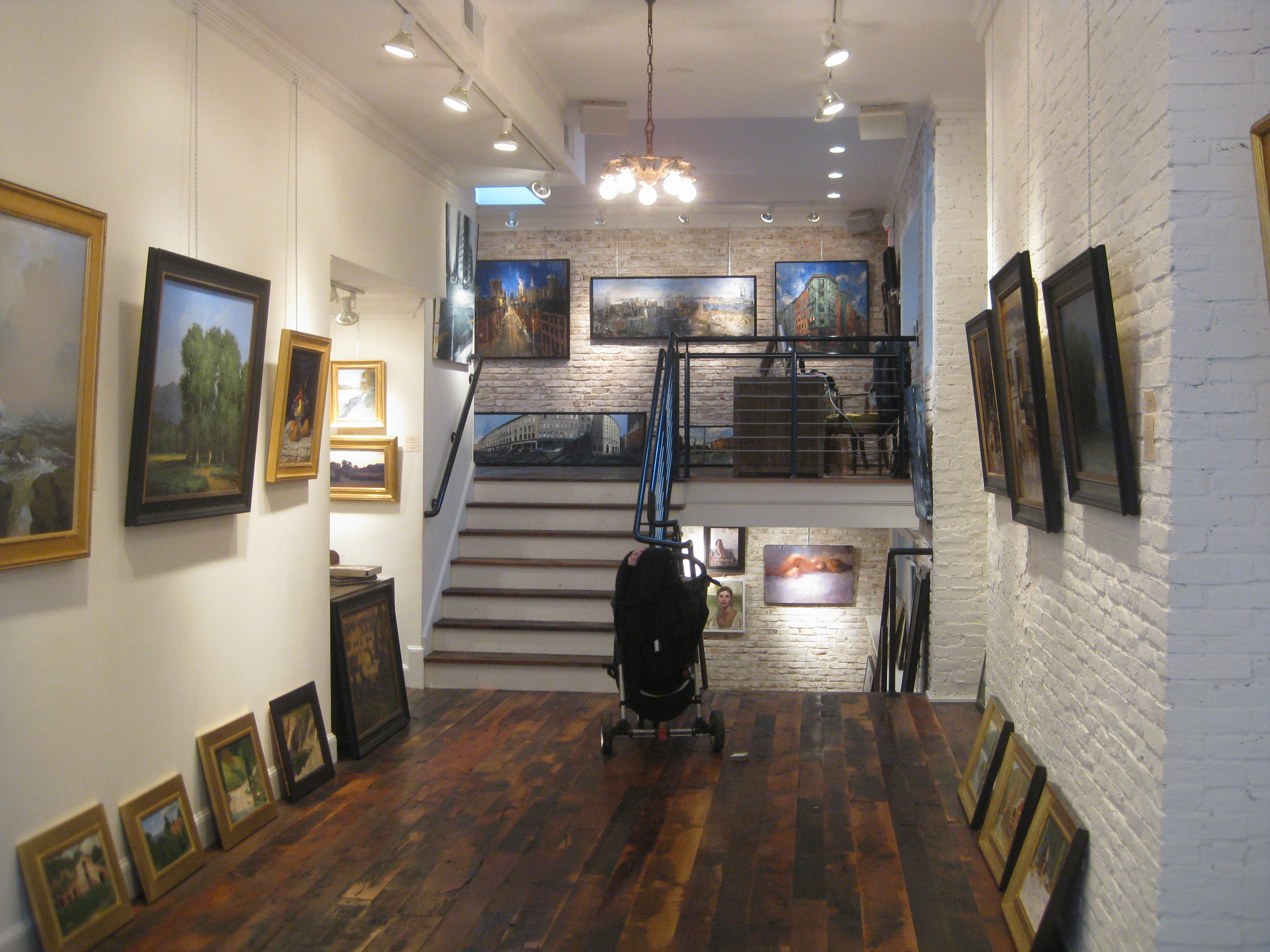 New artist at the Sloane Merrill Gallery!
