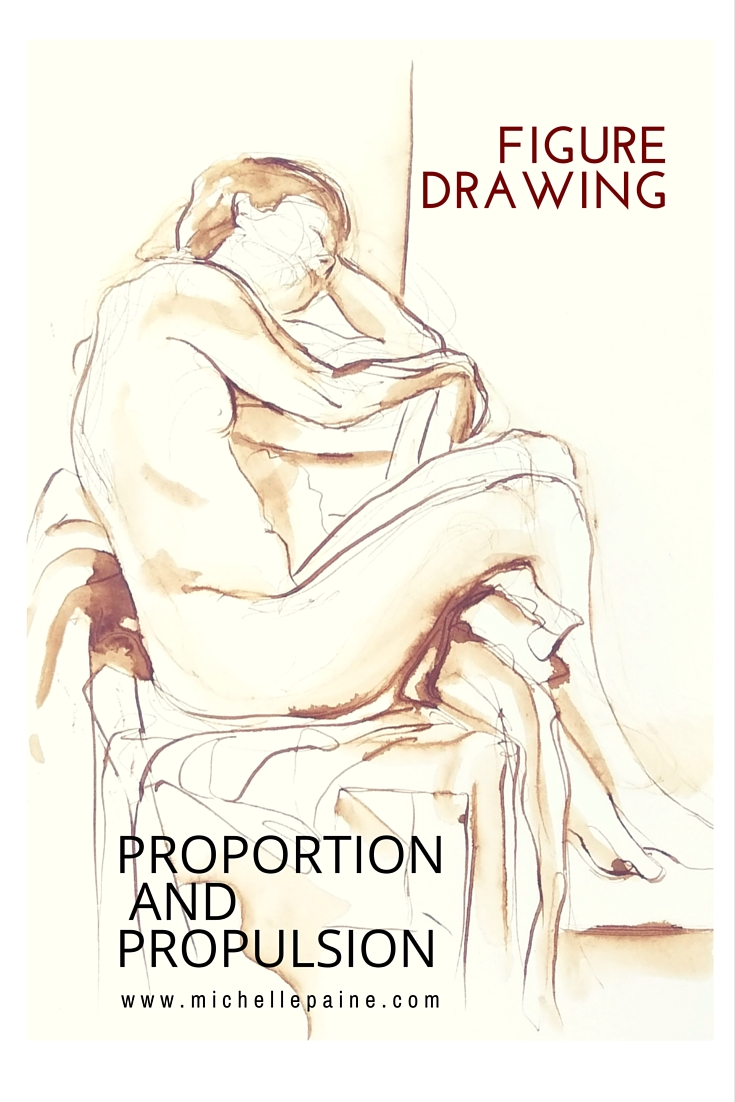 Figure Drawing – Proportion and Propulsion