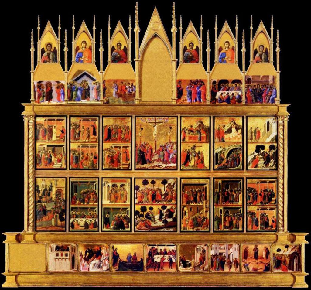 duccio maesta back panels 1308-11