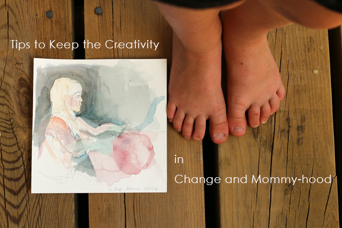 tips for mommy artists and creatives