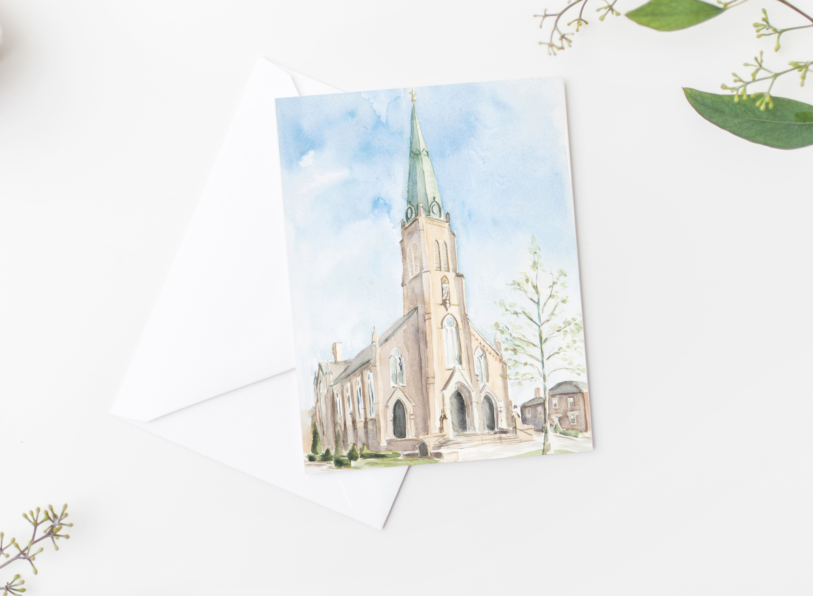 St Rose Notecards