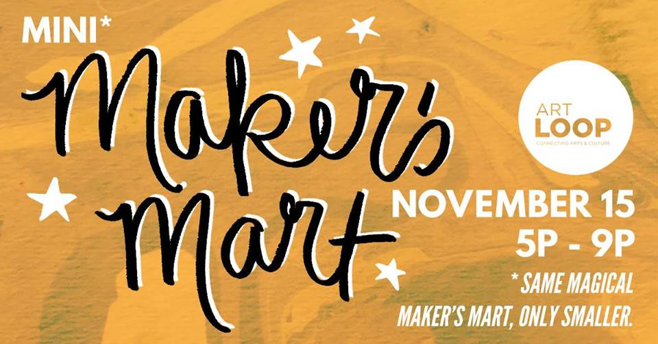 Toledo Art Loop Mini-Mart… brought to you by the Artist Accelerator Grant
