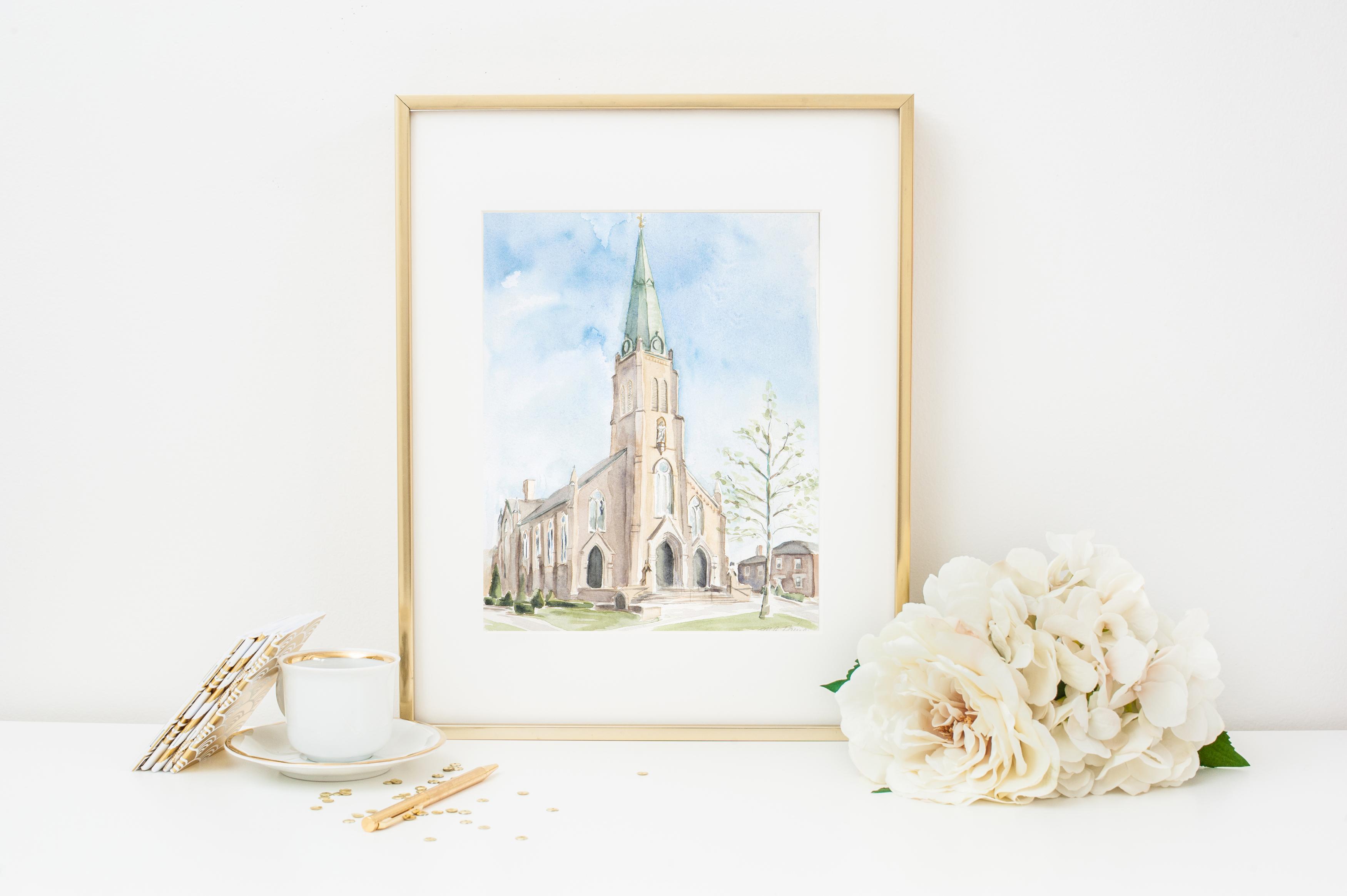 custom wedding painting st rose perrysburg